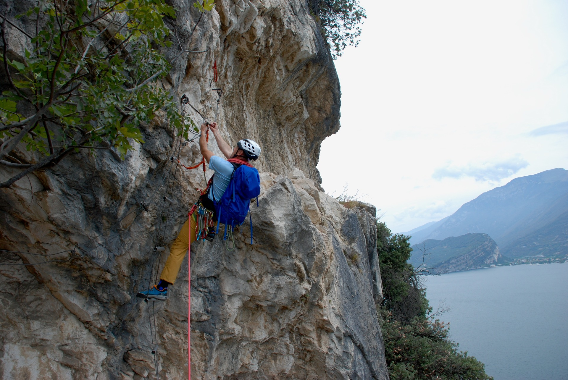 Klettern Arco Gardasee