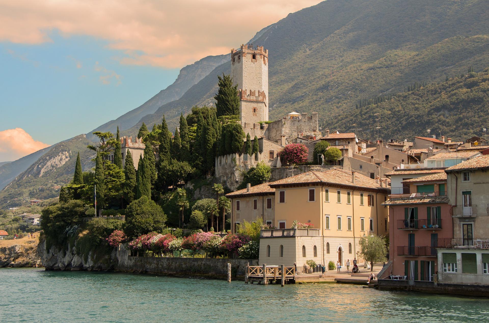 Malcesine Italien Gardasee