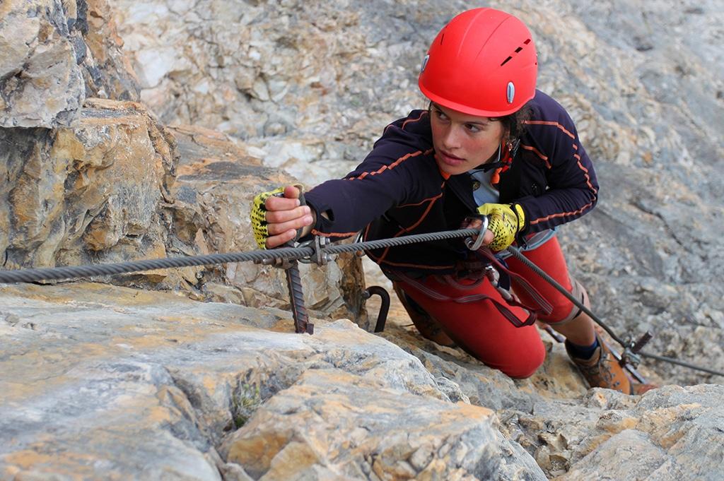 Klettersteig Arco : Klettersteig che guevara in pietramurata im sarcatal der nähe
