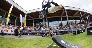 Danny MacAskill auf dem Bike Festival in Riva del Garda
