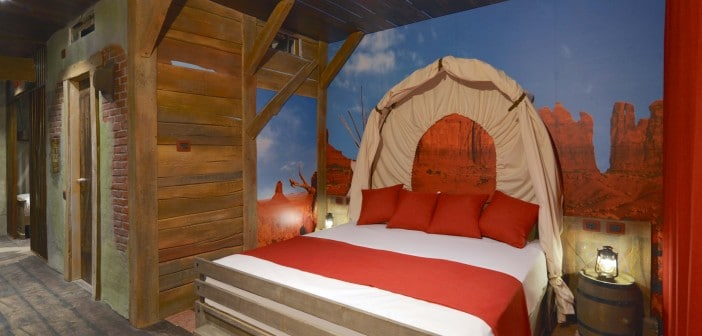 Neue Themenzimmer im Gardaland Adventure Hotel am Gardasee